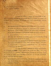 Carta ao Diretor Executivo do IUPERJ (1969)
